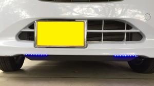 LED自作デイライト ブルー
